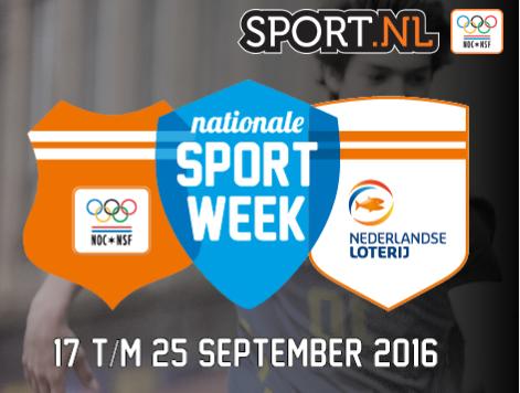 Nationale sportweek 2016